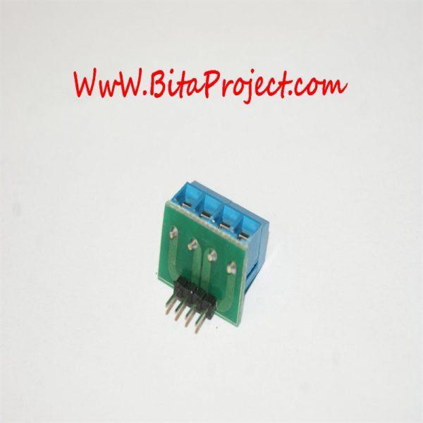 ۴ input terminal to pin header