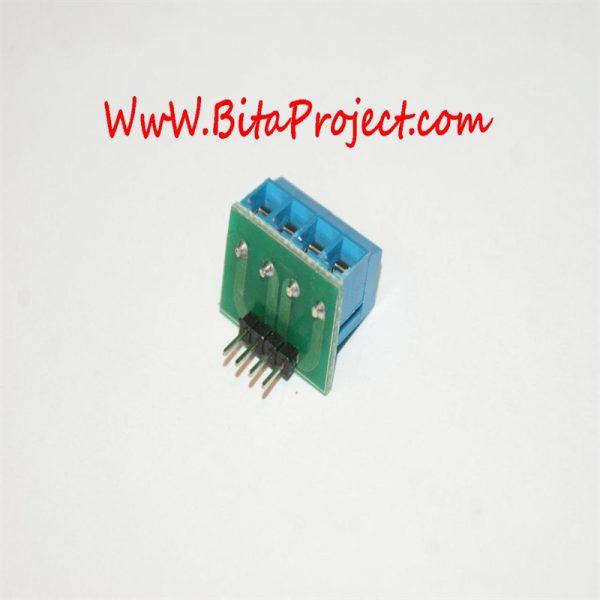 ۴ input terminal to pin header [2]