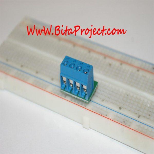 ۴ input terminal to pin header [6]