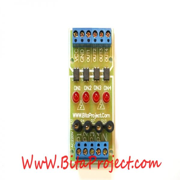 ۲۲۰v AC to 3.3-24v DC four channel [bitaproject] (2)