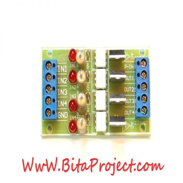dc to 220v ac four channel isolation module board [bitaproject] (1)