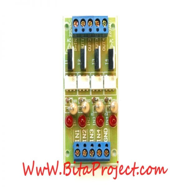 dc to 220v ac four channel isolation module board [bitaproject] (4)