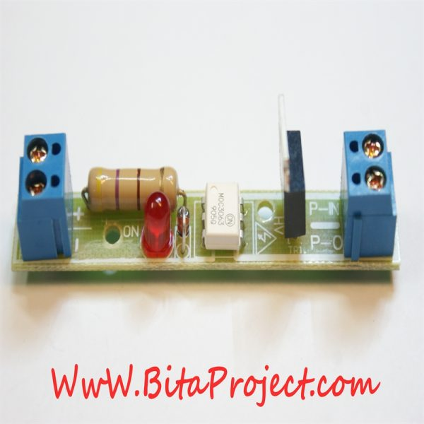 dc to 220v ac single channel isolation module board [bitaproject] (2)